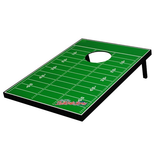 Tailgate Toss - Generic Football Field - Bean Bag Toss and Corn Hole Game