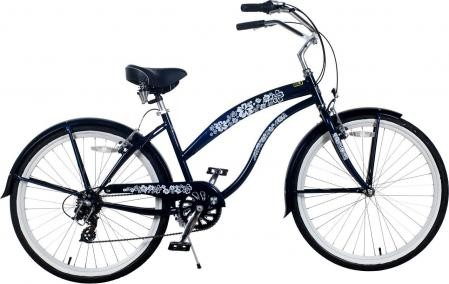 Ladies 26 inch 7-Speed Deluxe Beach Cruiser