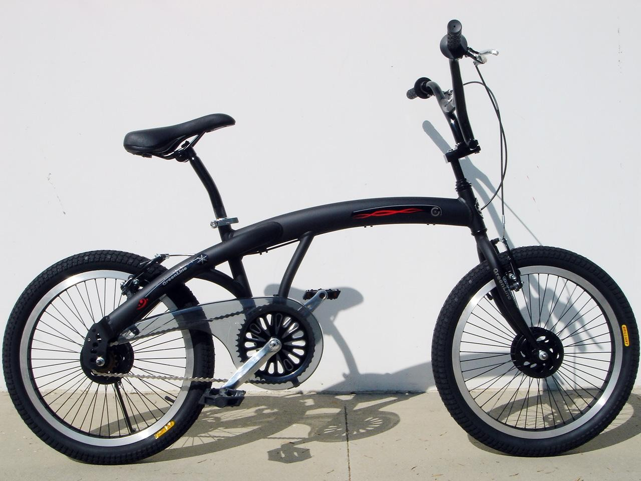 BMX Freestyle 20 Inch Aluminum Bike Black