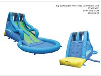Big Surf Commercial Grade Double Waterslide