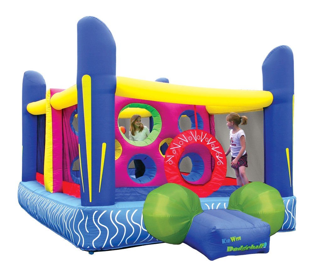 USED Jump'n Dodgeball Inflatable