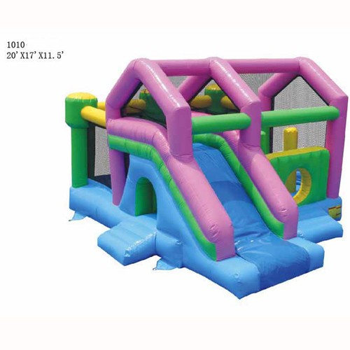 Commercial Grade Inflatable - 3 in 1 Bounce and Slide