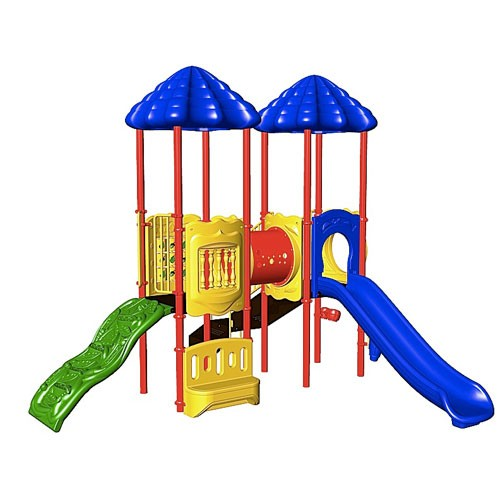 Ultra Play UP and Down Double Deck Commercial Playsystem - Playful