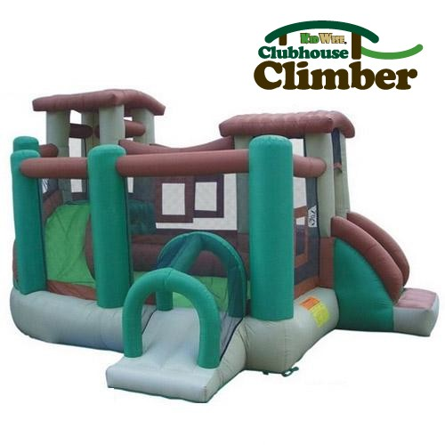 Used Kidwise Clubhouse Climber Bouncer - Inflatable Bounce House