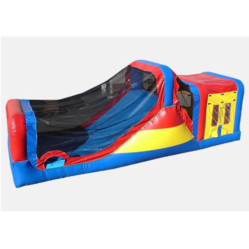 12' Happy Slide and Jump - Commercial Wet and Dry Combo Bouncer