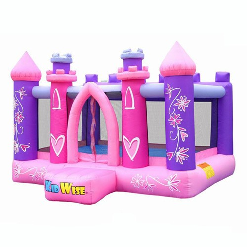 USED KidWise Princess Party Bouncer - Inflatable Bounce House