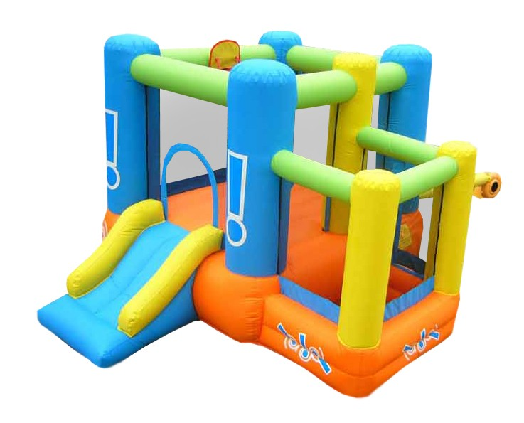 USED Little Star Bounce House - Inflatable with Ball Pit