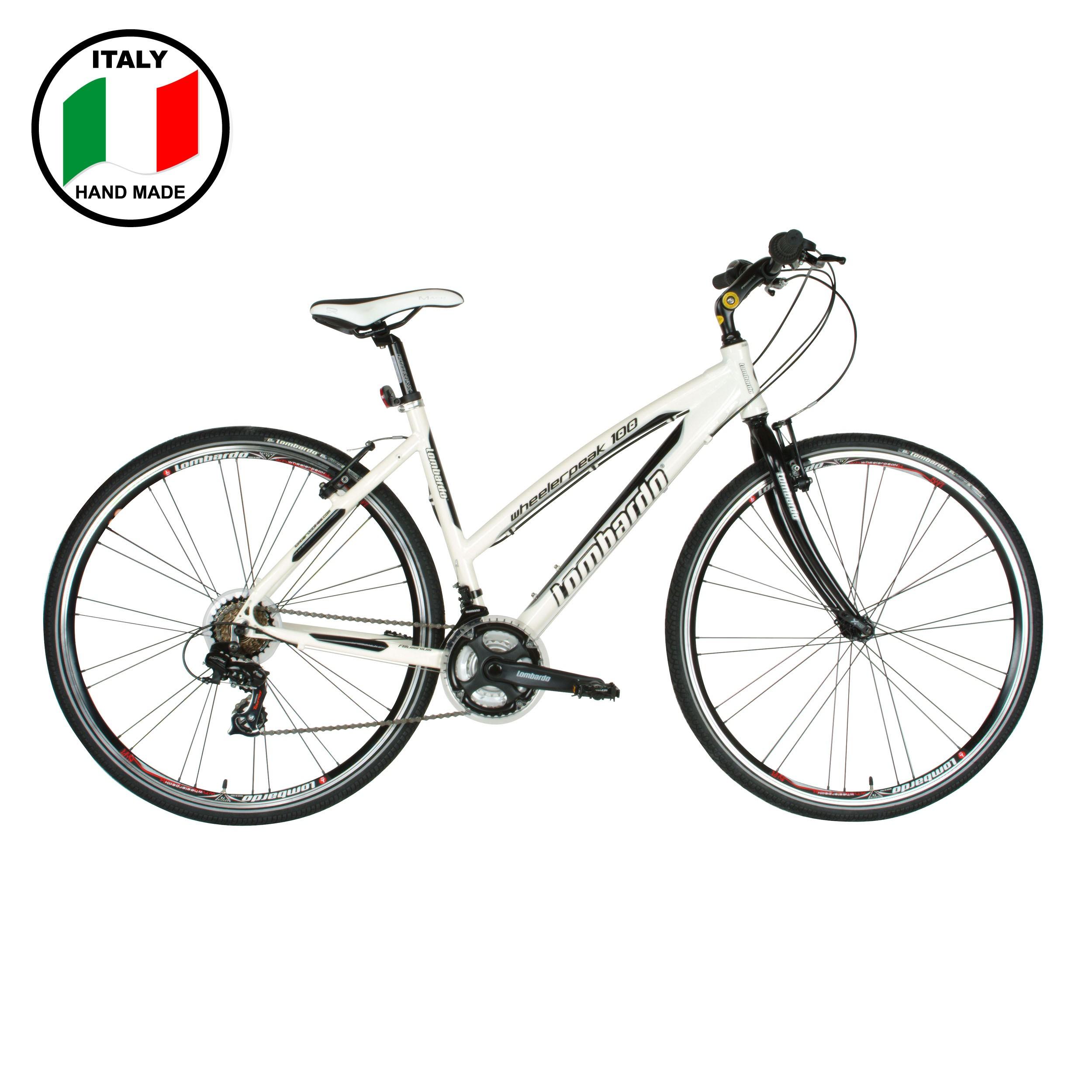 Lombardo Wheelerpeak 100 28 inch Bike- White