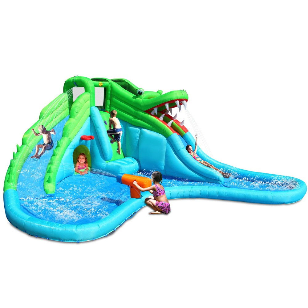 inflatable water parks and slides for kids