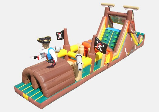 Pirates Obstacle Challenge - Commercial Inflatable Obstacle Course