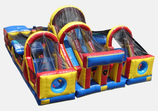 3 Piece Obstacle Course - Commercial Inflatable Obstacle Course