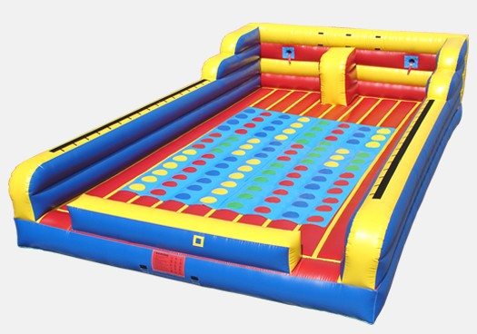 Bungee, Joust and Twister Combo- Commercial Inflatable