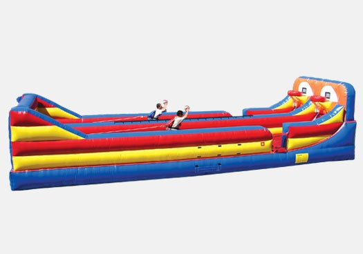 Bungee and Hoop ShootOut Combo - Commercial Inflatable Game