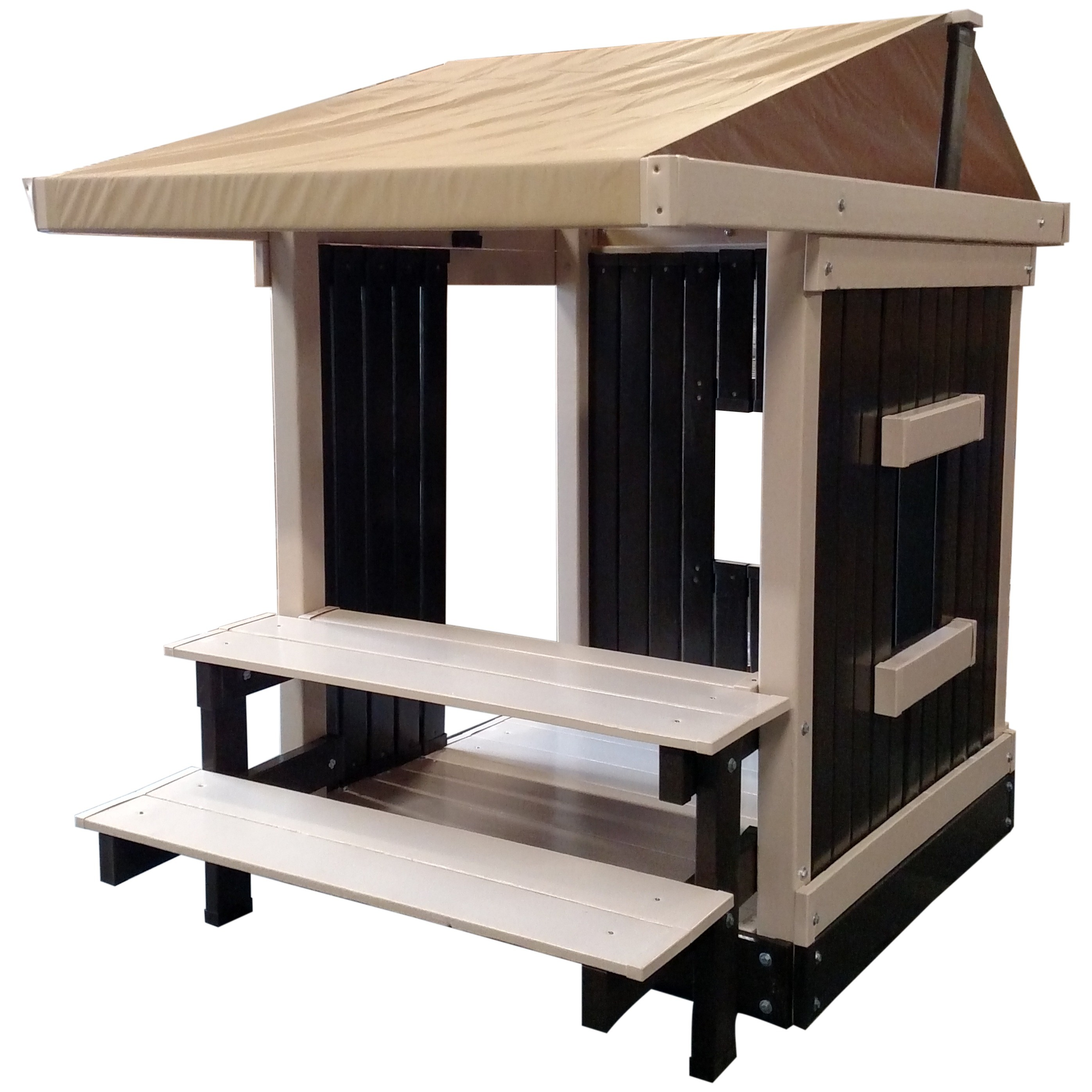 CONGO Clubhouse With Picnic Table - Ready to assemble picnic table