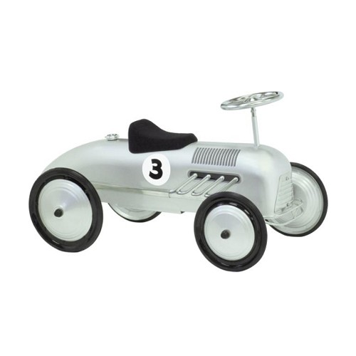 Silver Streak Foot to Floor Retro Racer SILVER
