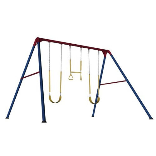 Lifetime 10 Foot Swing Set Primary Colors