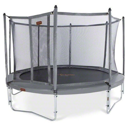 NEW JumpFree PROLINE Titanium Series 15 Foot Sports Trampoline With Safety Enclosure