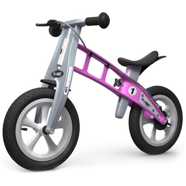 FirstBike Street Balance Bike with Brake (Multiple Colors Available)