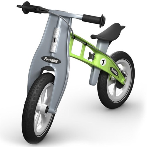 FirstBike Racing Balance Bike with Brake (Multiple Colors Available)
