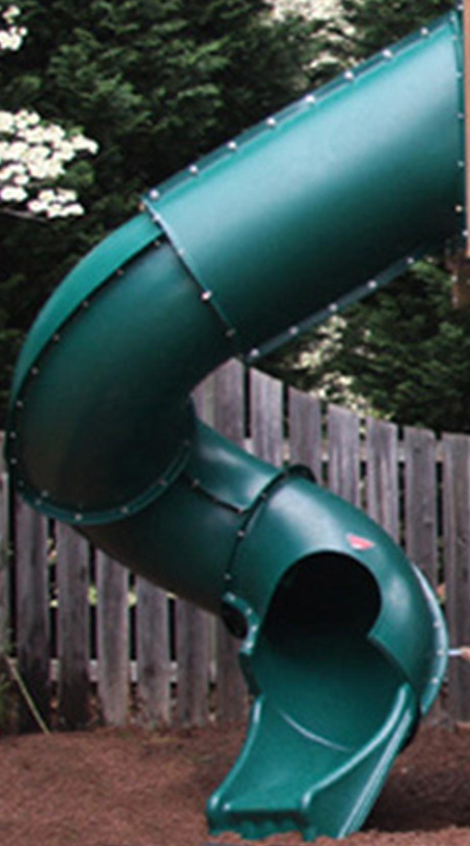 7 ft Turbo Tube Slide - Green
