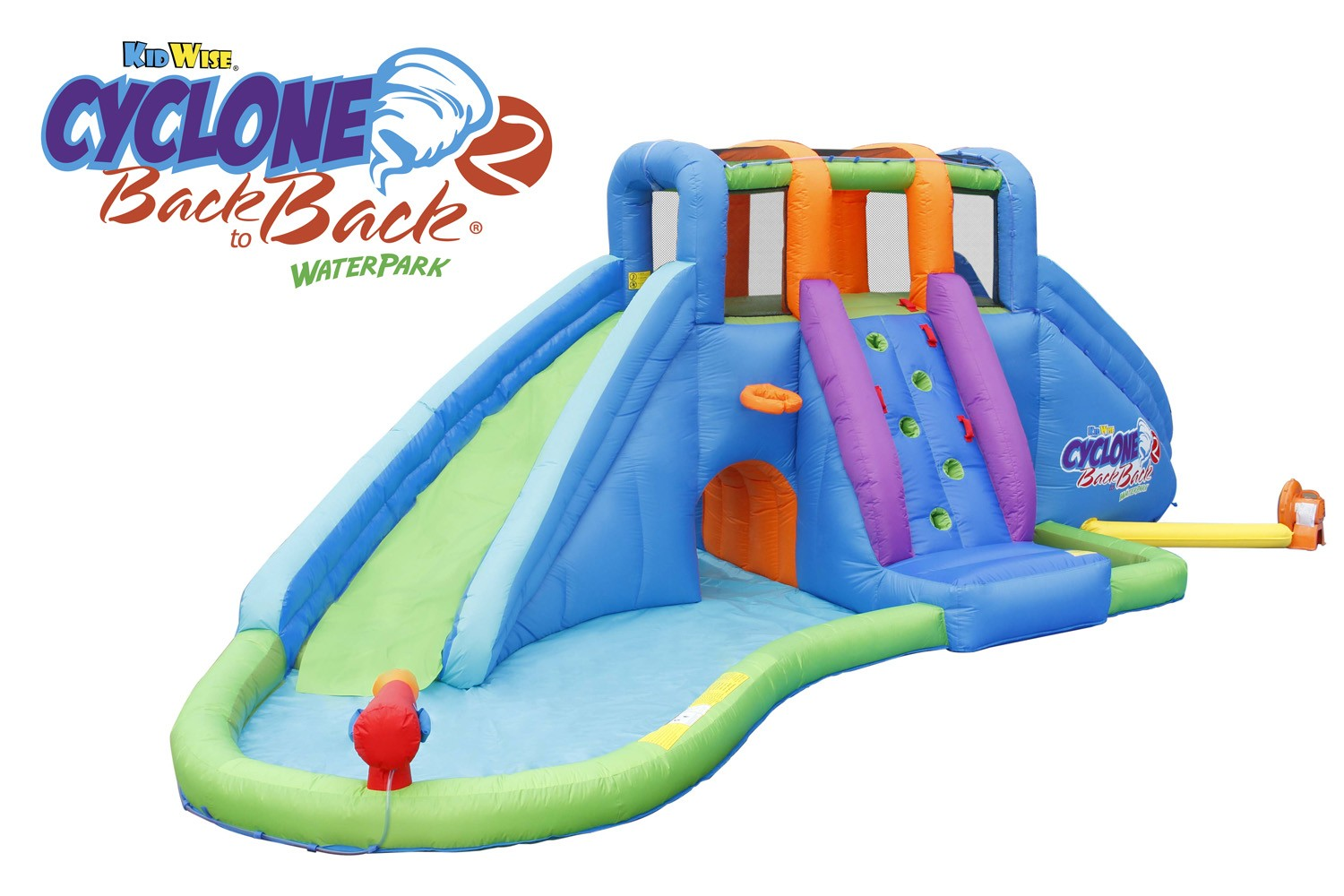 Cyclone2 Back to Back® Waterpark and Lazy River