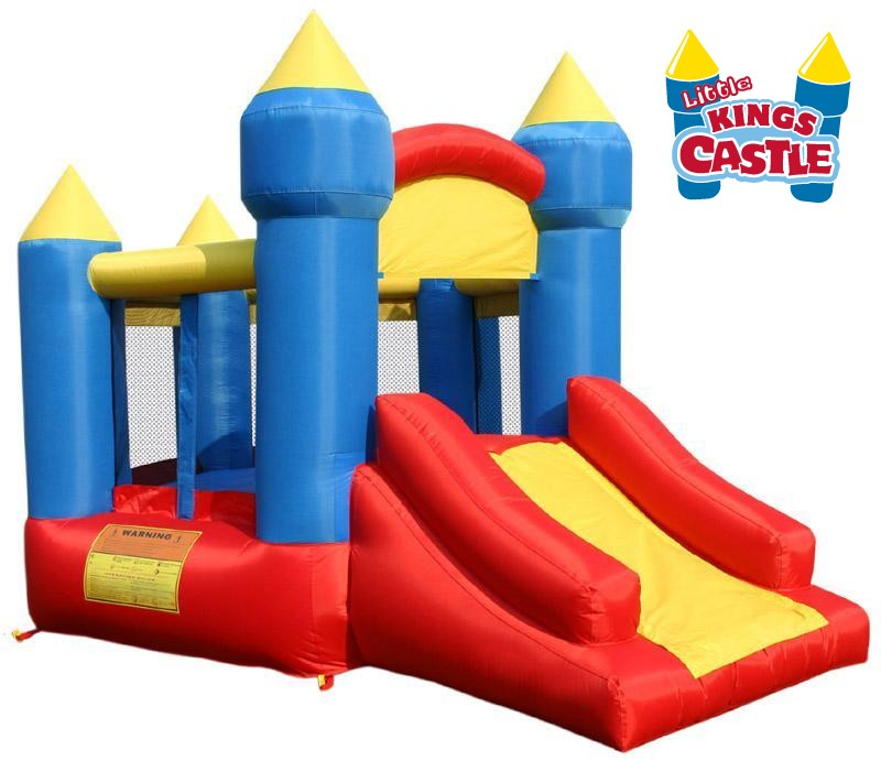 USED Little King's Castle Inflatable Bouncer