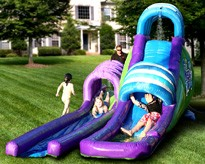USED Mega Waterslide