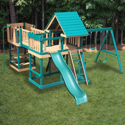 Congo Monkey Play Set Package #5 - Green/Cedar Special Offer