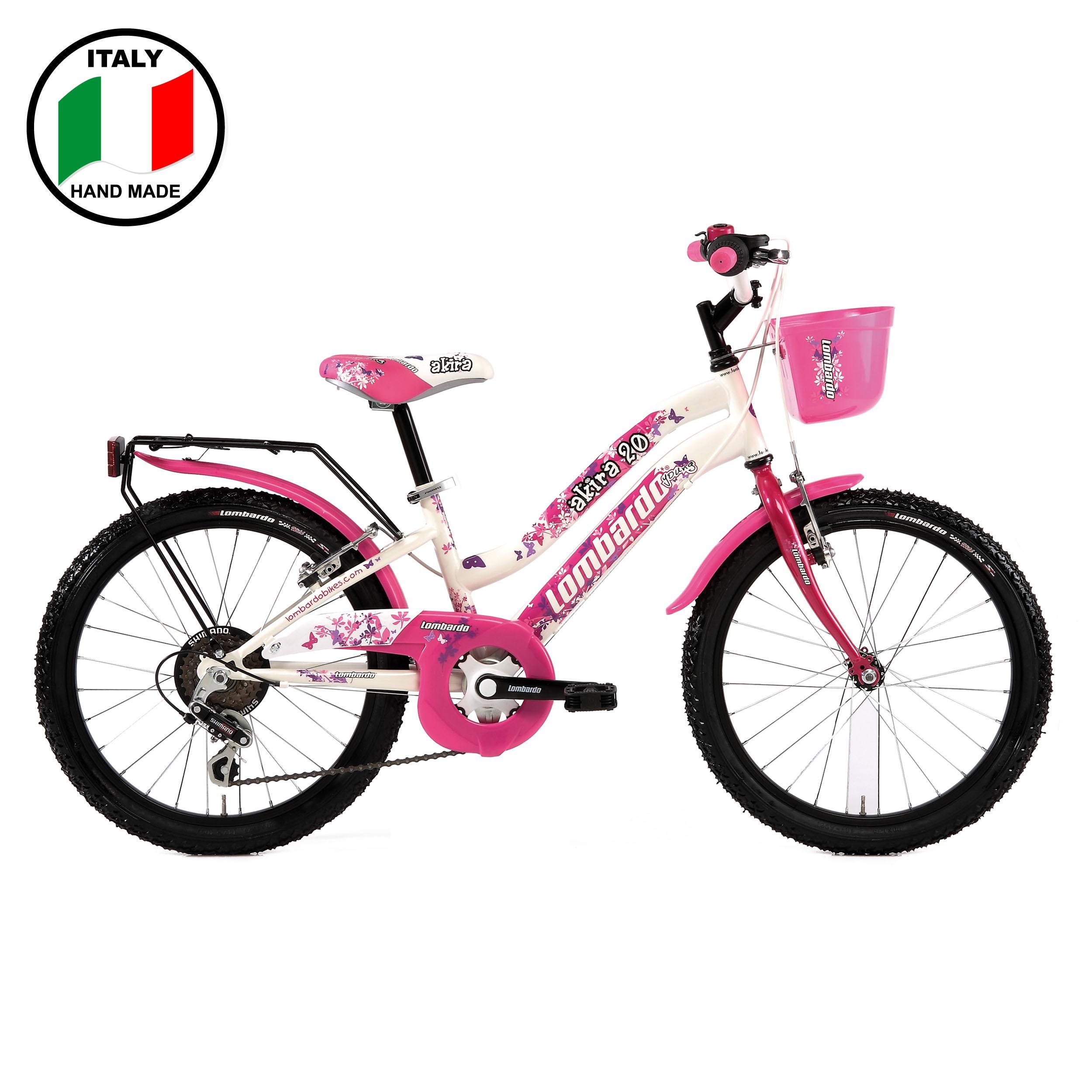Lombardo Akira 20 inch White and Pink