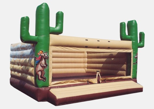 20 x 20 Western Bouncer - Commercial Inflatable Bounce House