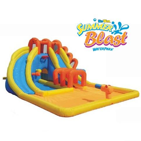 USED Summer Blast Water Park - Inflatable Water Slide