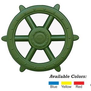 Green Ships Wheel - Play Set Accessory