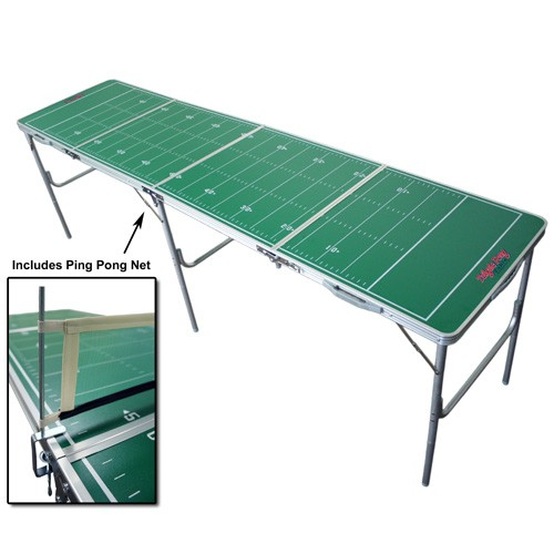 Generic Football Foldable Tailgate Table with Ping Pong Net
