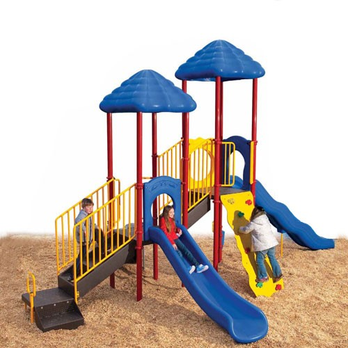 UPlay Bighorn Double Deck Commercial Playsystem - Playful