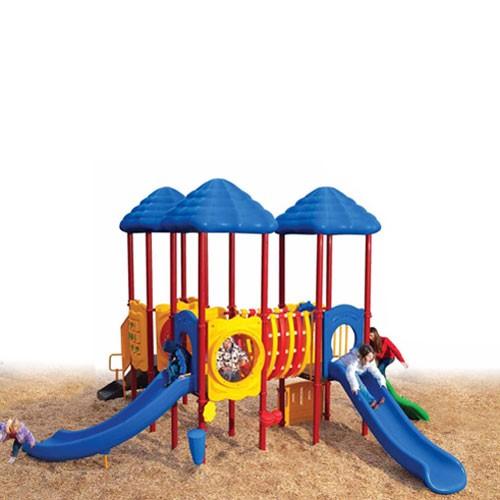 UPlay Cumberland Gap Triple Deck Commercial Playsystem - Playful