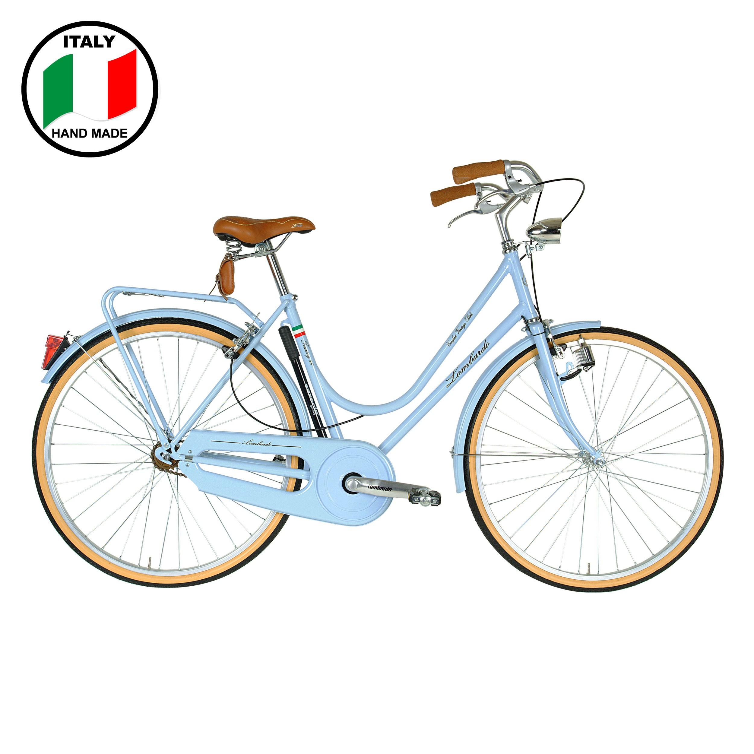 Lombardo Vintage Touring 28 inch Bike- Burgundy