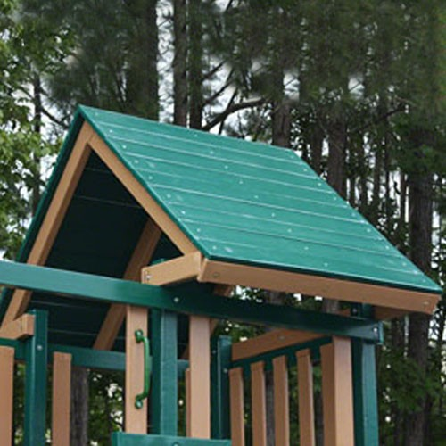 Wooden Roof Upgrade for Congo Monkey Playsets