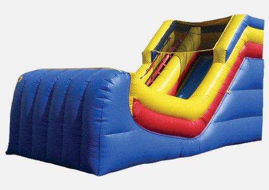 12' Primary Colors Wet and Dry Slide - Commercial Inflatable Slide
