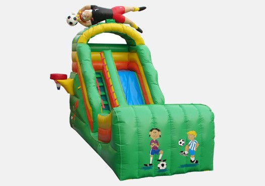 17' Sports Wet and Dry Slide - Commercial Grade Inflatable