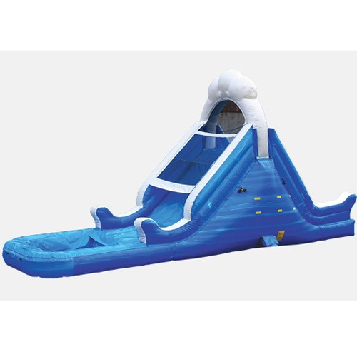 14' Ocean Themed Waterslide - Commercial Inflatable