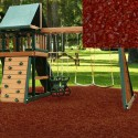 Playground Recycled Rubber Mulch Cedar Red