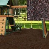 Playground Recycled Rubber Mulch- Chocolate Brown