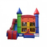 5 x Jump & Splash Castle Combo - Commercial Inflatable Combo