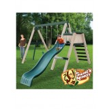 CONGO Swing'N Monkey 2 Position Play Set - Green and Tan
