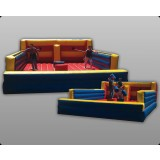 Bungee and Joust Combo - Commercial Inflatable Game