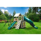 Congo Explorer TreeHouse Climber Maintenance-Free Swing Set
