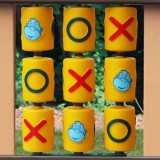 Playsets Tic-Tac-Toe Spinner Panel