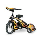 Morgan Cycle Retro Style Black Hot Rod Steel Tricycle