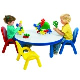 Angeles® Baseline® Toddler Round Table and 4 Chair Set, Multiple Colors