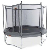 NEW JumpFree PROLINE Titanium Series 14 Foot Sports Trampoline With Safety Enclosure